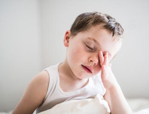 Trastornos del sueño en niños de 1 a 2 años